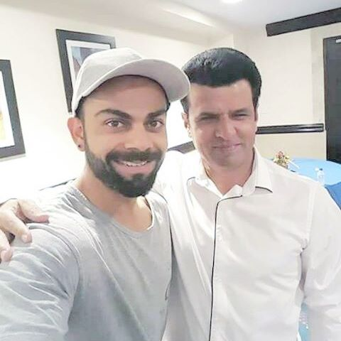 Watch: Virat Kohli wishes Aleem Dar well for his new business venture