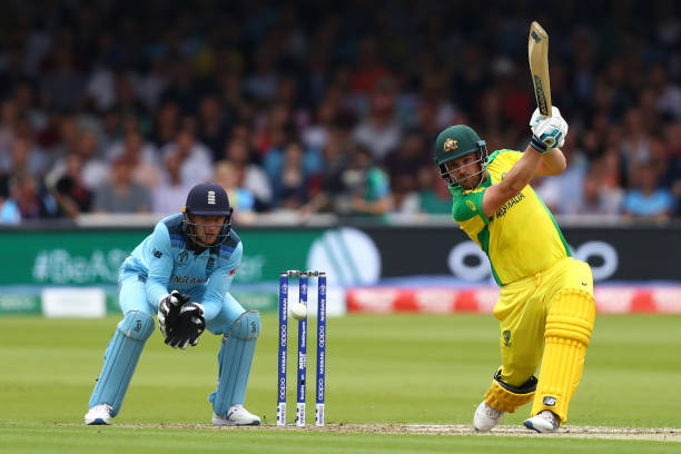 Aaron Finch has scored record 425 runs against England in T20I cricket. (Photo - Getty Images)