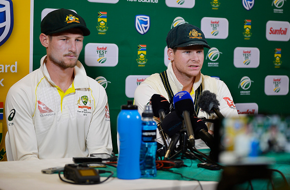 Bancroft and Smith have revealed the inside dressing room talk at the time | Getty