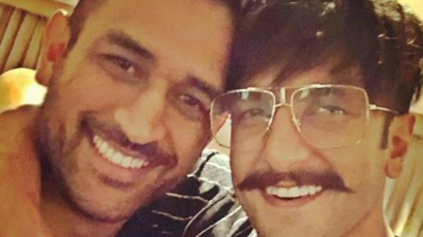 Ranveer Singh shares super dapper selfie with MS Dhoni