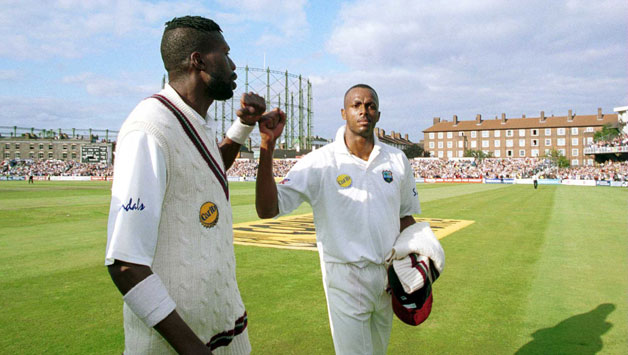 Curtly Ambrose (L) and Courtney Walsh (R) | Source Getty