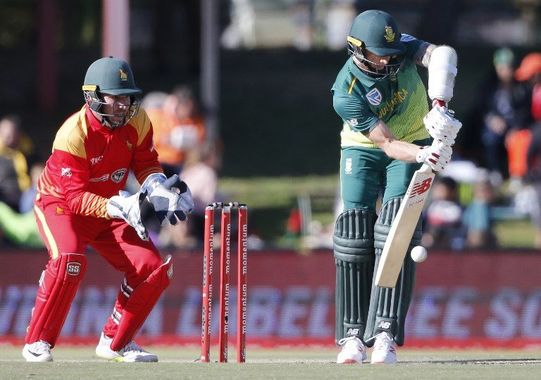 South Africa and Zimbabwe will play white-ball series in Ireland this year | AFP