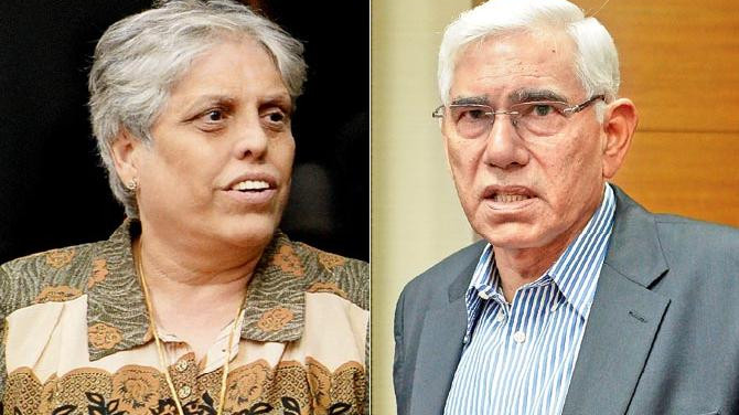 Diana Edulji denies rift with Vinod Rai over Pakistan's participation in World Cup 2019
