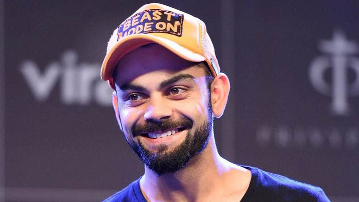 Watch - Virat Kohli takes a pledge to never drink and drive on the occasion of the National Road Safety Week