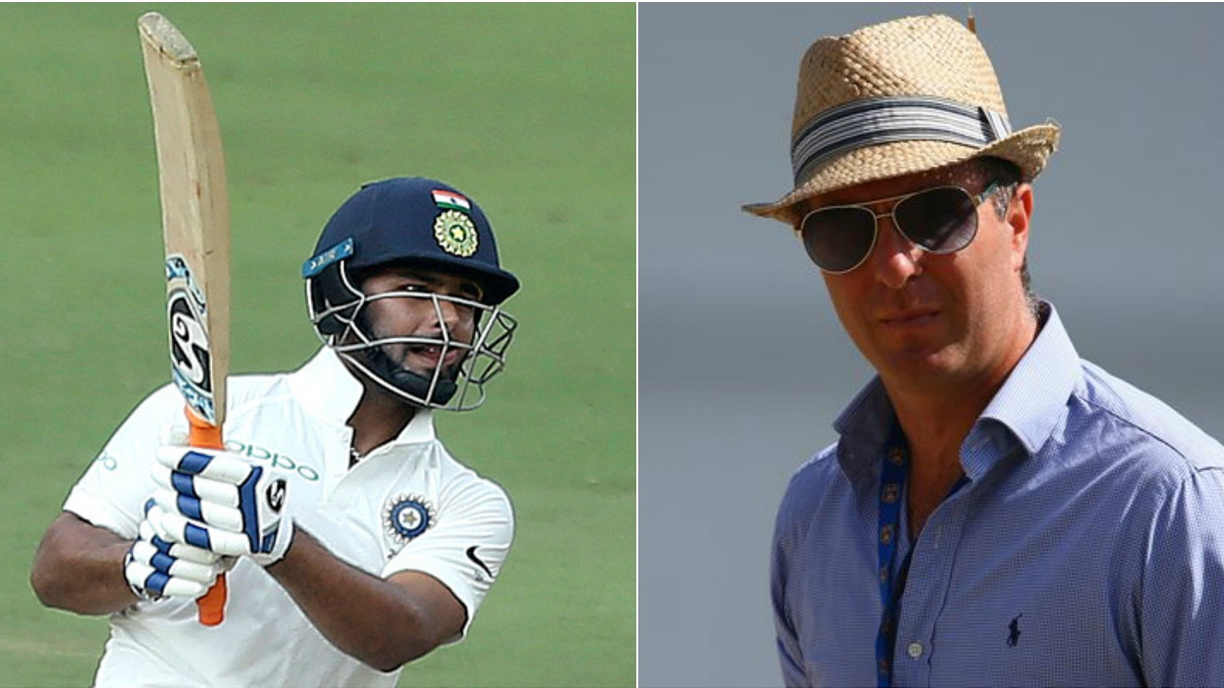 IND v WI 2018: Michael Vaughan predicts a stellar future for Rishabh Pant