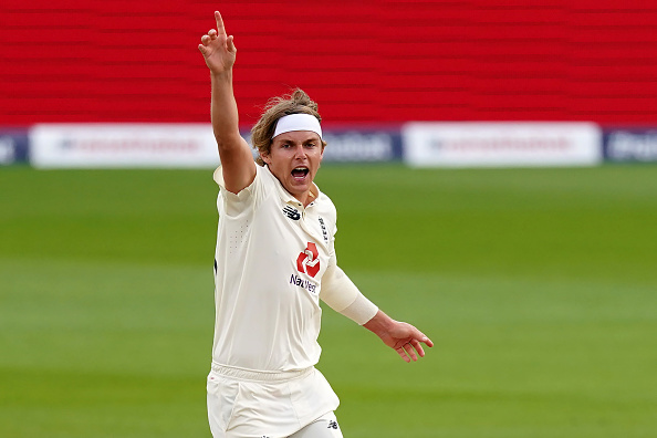 Curran was expected to fly to Ahmedabad in time to be available for the final Test   Getty Images