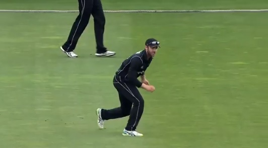 Watch: Kane Williamson's hilarious throw left everyone laughing