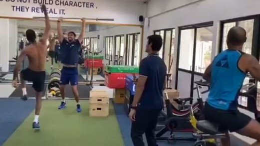 WATCH- Shikhar Dhawan, Hardik Pandya and Ishant Sharma enjoy their rehab at the NCA
