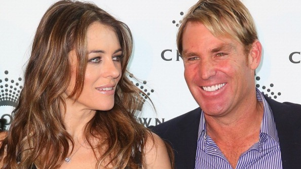 Shane Warne opens up about the weird scrutiny he found himself under while dating Liz Hurley