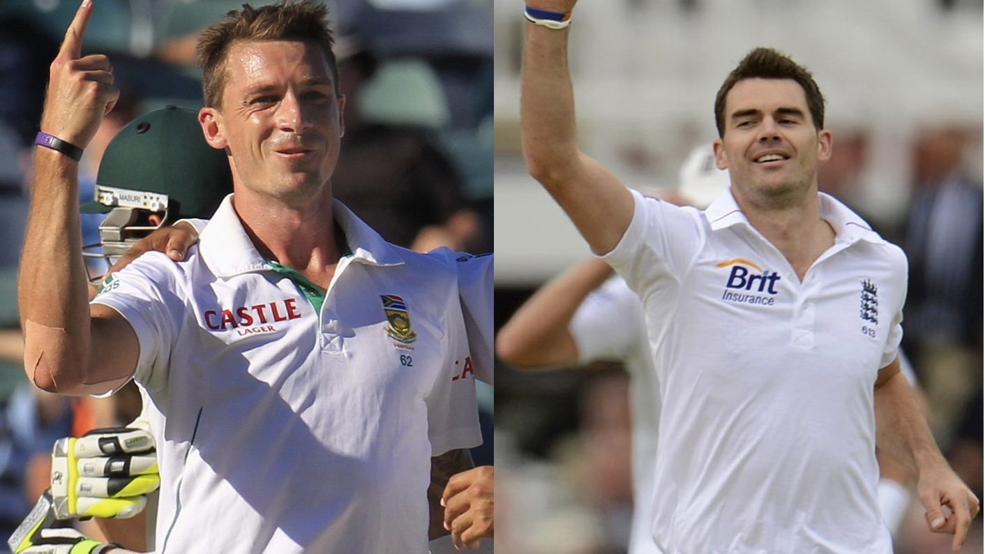 'I could never bowl those big in-swingers' – Steyn hails Anderson's ridiculous bowling skills