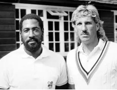 Vivian Richards and Ian Botham | PA