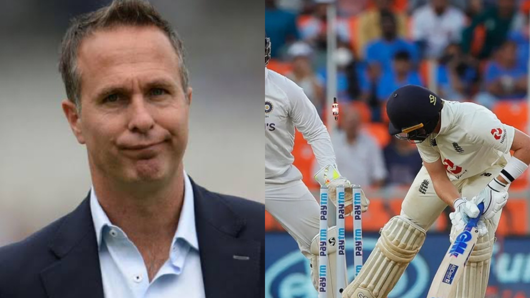 IND v ENG 2021: Michael Vaughan melts down after England get bowled out for 81; India set 49 to win