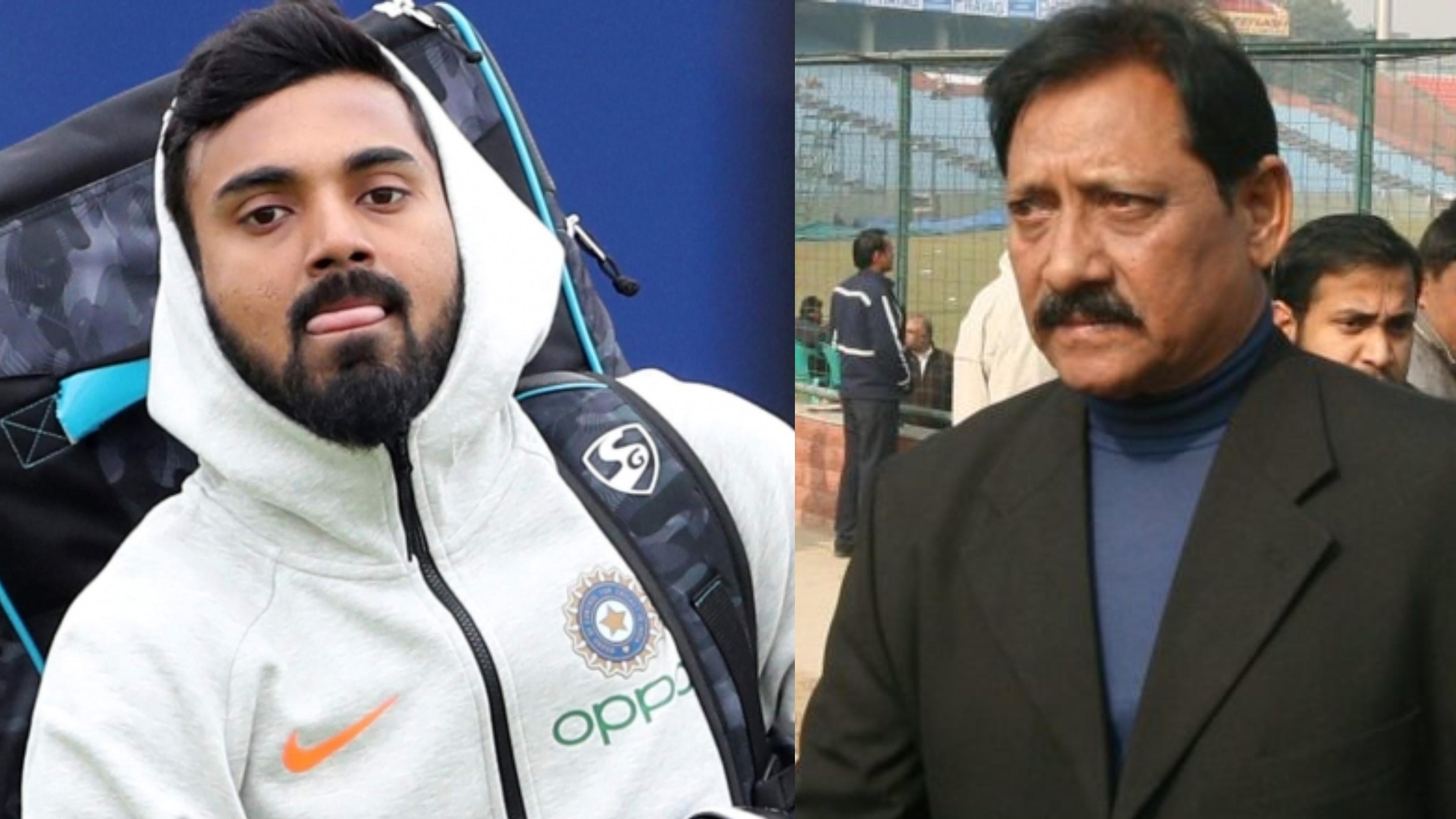 Chetan Chauhan blames T20 mindset for KL Rahul's struggles in Test cricket