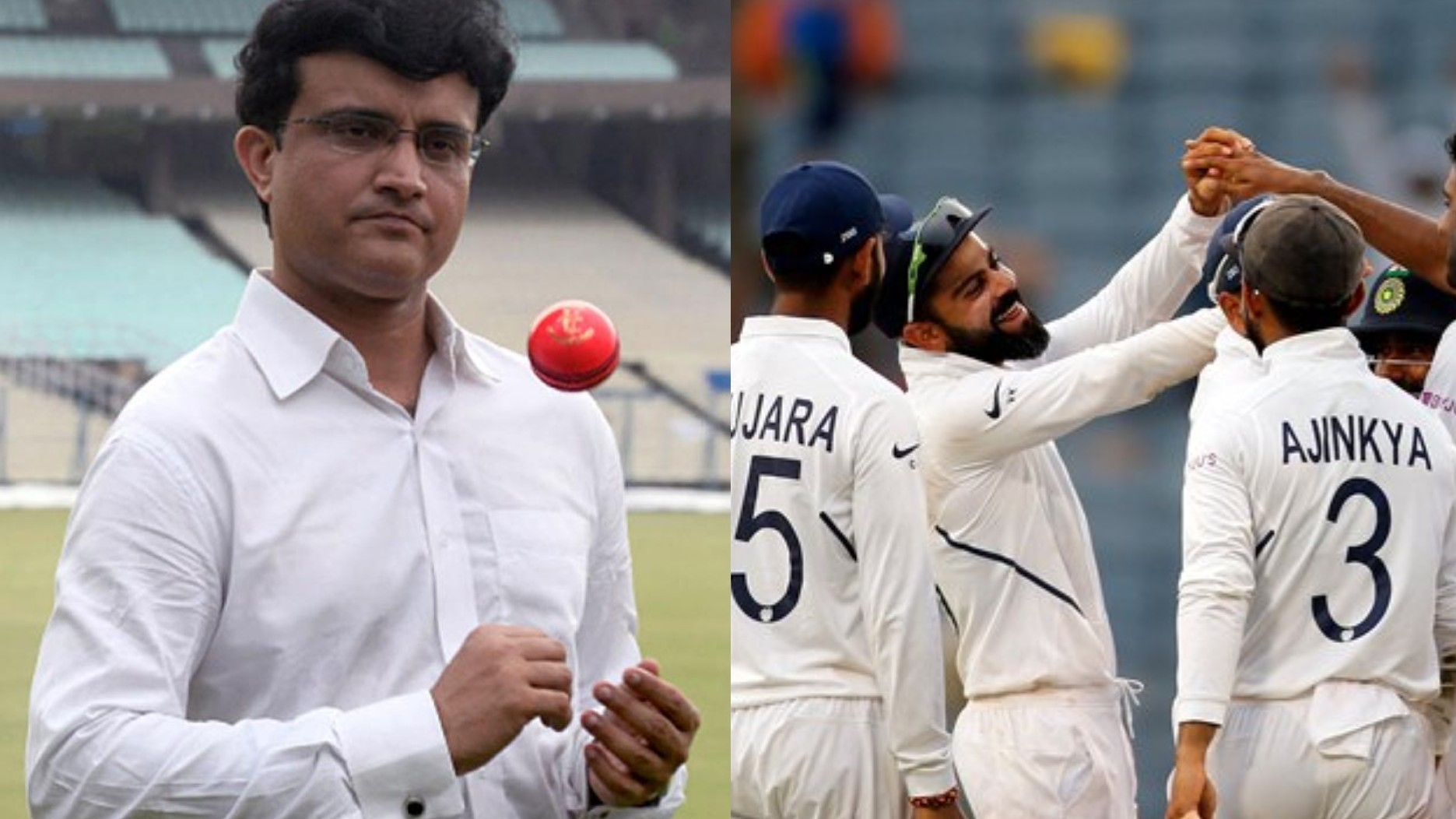 IND v BAN 2019: Kohli would be happy to see a jam-packed Eden Gardens for D/N Test, says Ganguly