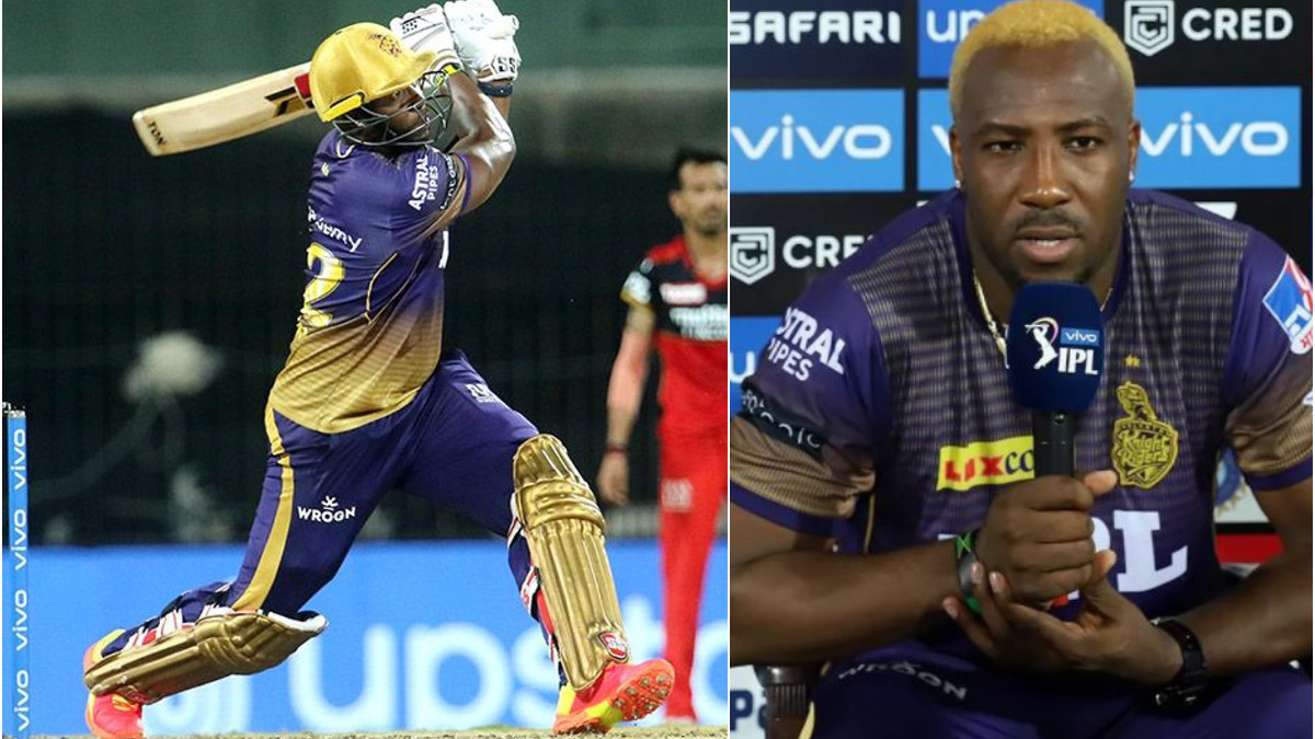 IPL 2021: WATCH- Want to hit the ball so hard they ask for a new one- Andre Russell's secret behind his big sixes