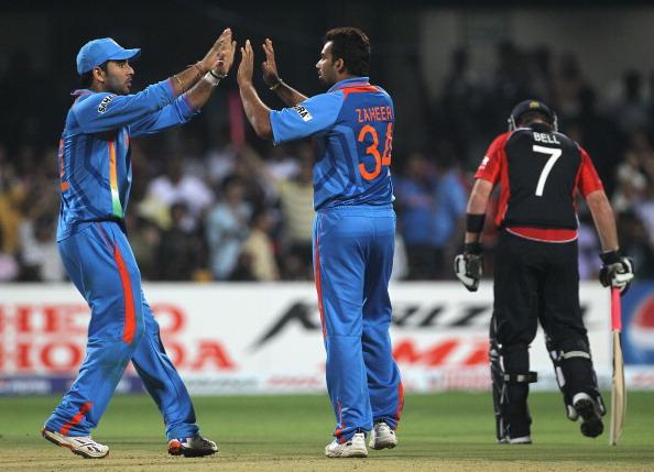 Zaheer Khan and Yuvraj Singh | GETTY
