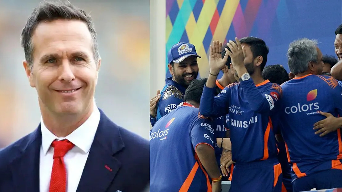 IPL 2021: Michael Vaughan predicts how Mumbai Indians (MI) will fare in IPL 14
