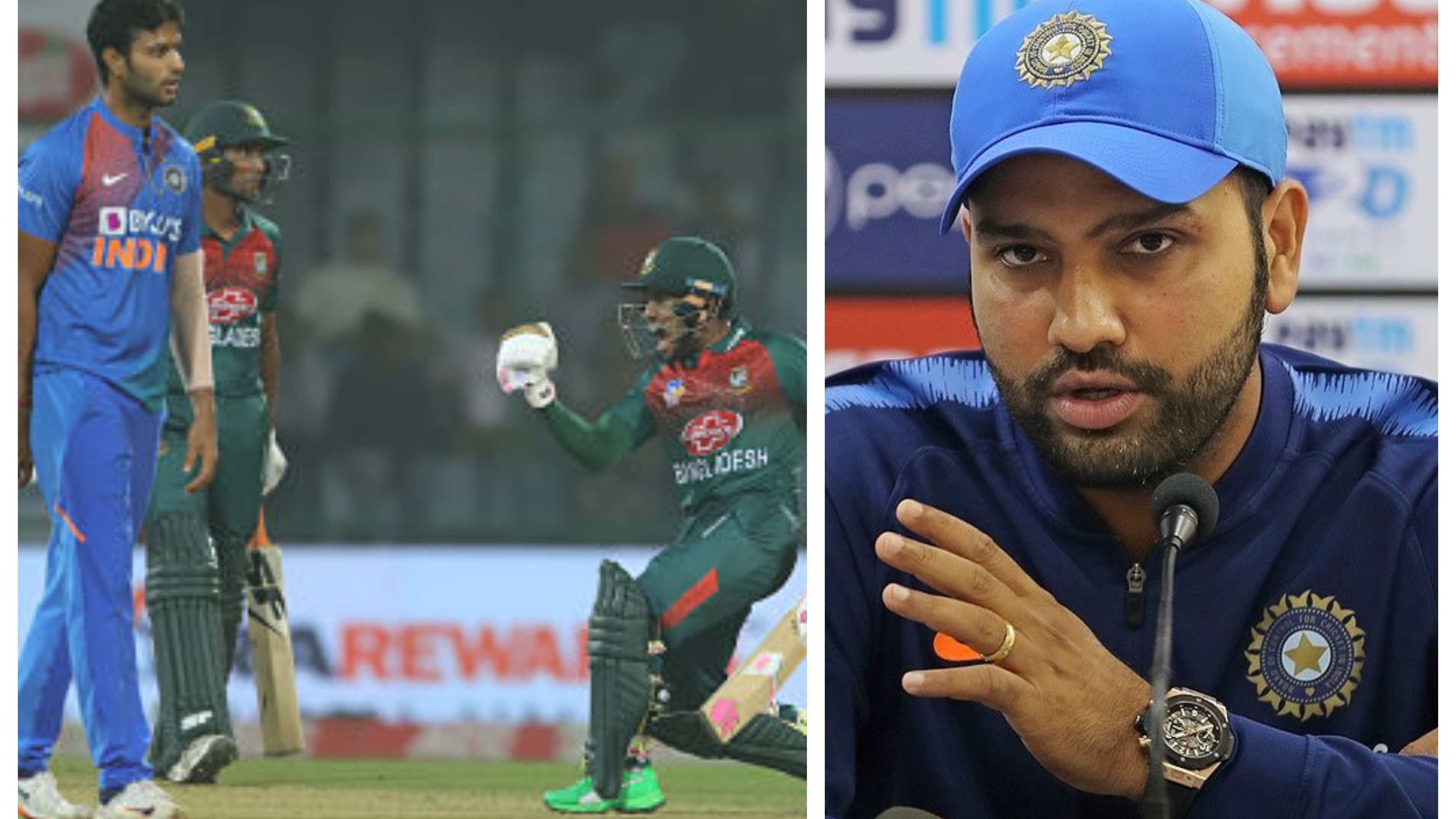 IND v BAN 2019: Rohit Sharma rues poor fielding, lack of DRS judgement after Delhi T20I loss