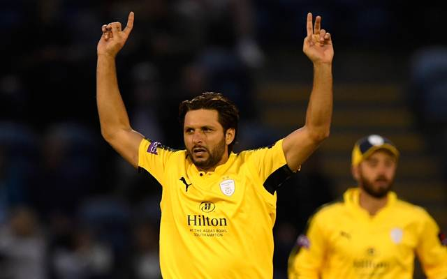 Shahid Afridi returned to cricket aftr 3-month layoff