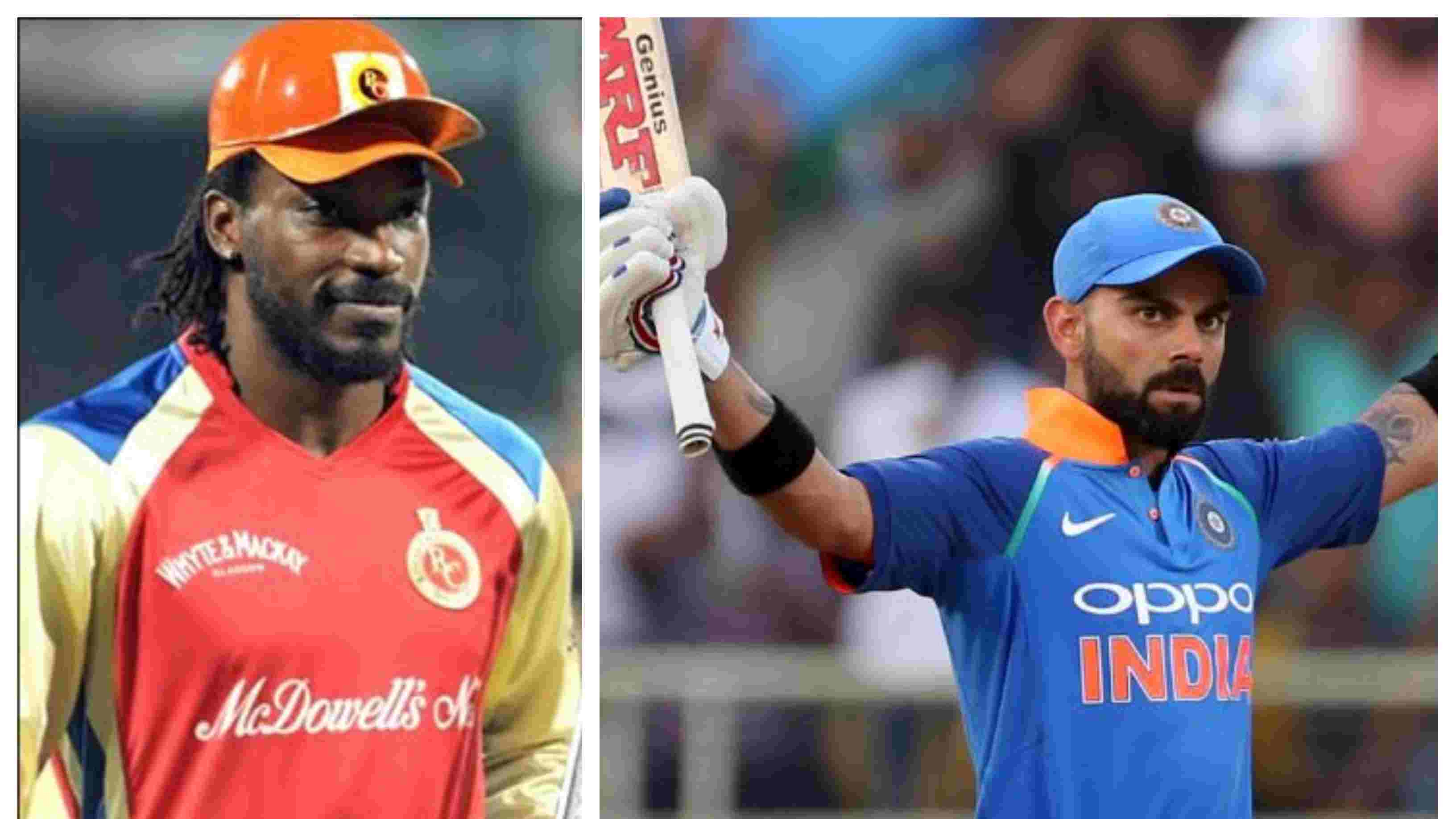 IND v WI 2018: WATCH – Chris Gayle's heart-warming message for Virat Kohli on reaching the 10000-run mark in ODIs