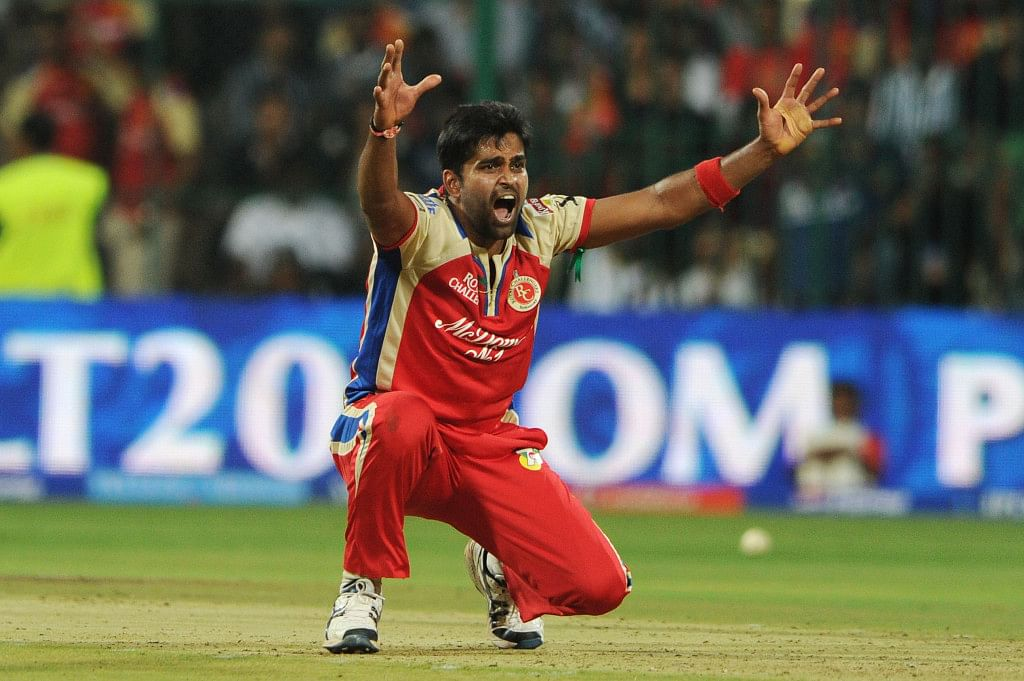Vinay Kumar picked 105 wickets in 105 IPL matches | Twitter