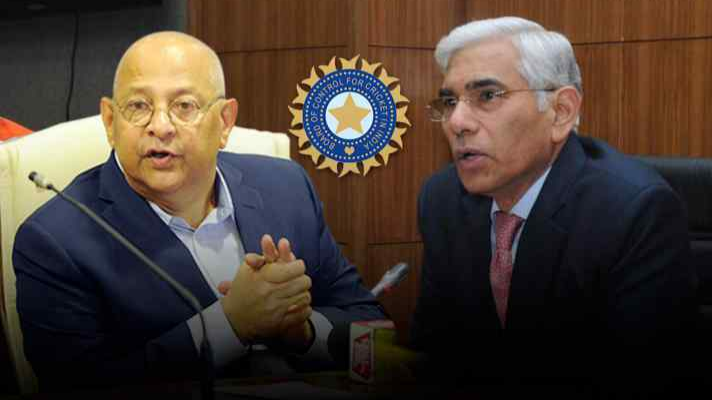 Amitabh Choudhary and Vinod Rai engage in a