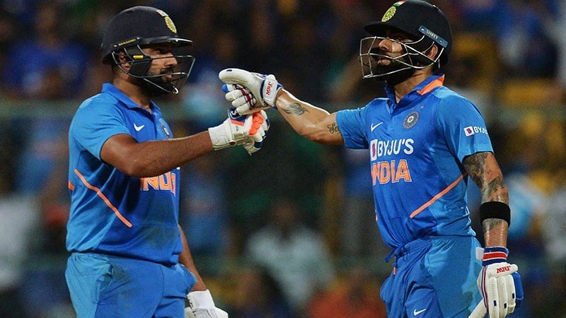 Virat Kohli and Rohit Sharma   AFP