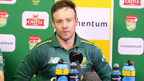 AB de Villiers clarifies rumours concerning international comeback