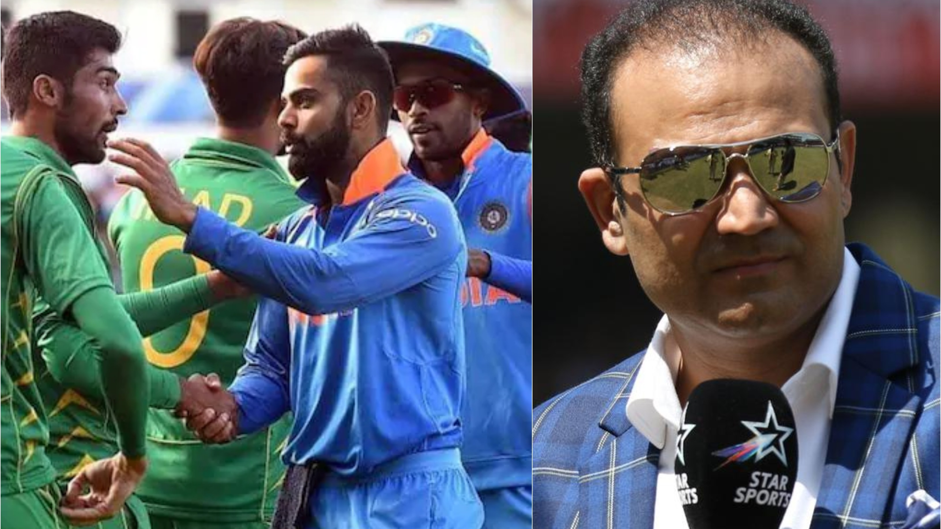 CWC 2019: India-Pakistan cricket matches nothing less than war, says Virender Sehwag