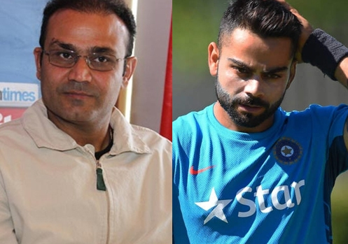 SA v IND 2018: Virender Sehwag slams Virat Kohli and asks him to drop himself