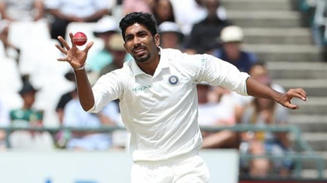 Image result for jasprit bumrah in india vs england test
