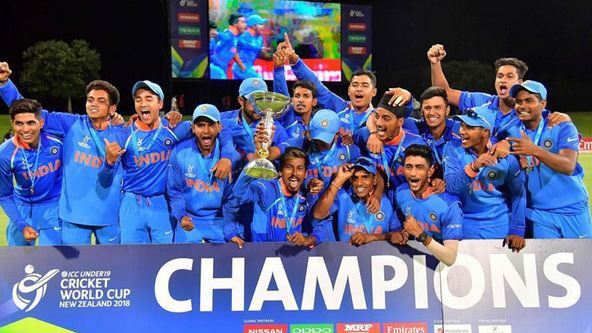 India's U19 World Cup win voted ICC Fans' Moment of the year