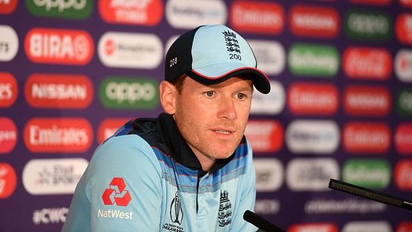 "CWC 2019: ""Our basics get challenged when we don't play on batter-friendly wickets"", says Eoin Morgan"
