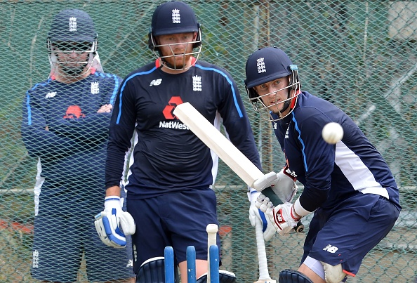 Joe Root and Jonny Bairstow during net session in Sri Lanka | Getty Images