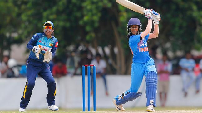 Jemimah Rodrigues thumped yet another fifty (52*) and added 96* with Anuja Patil to take India home | AP