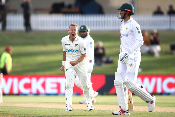 Wagner played with the pain in the first Test   Getty Images