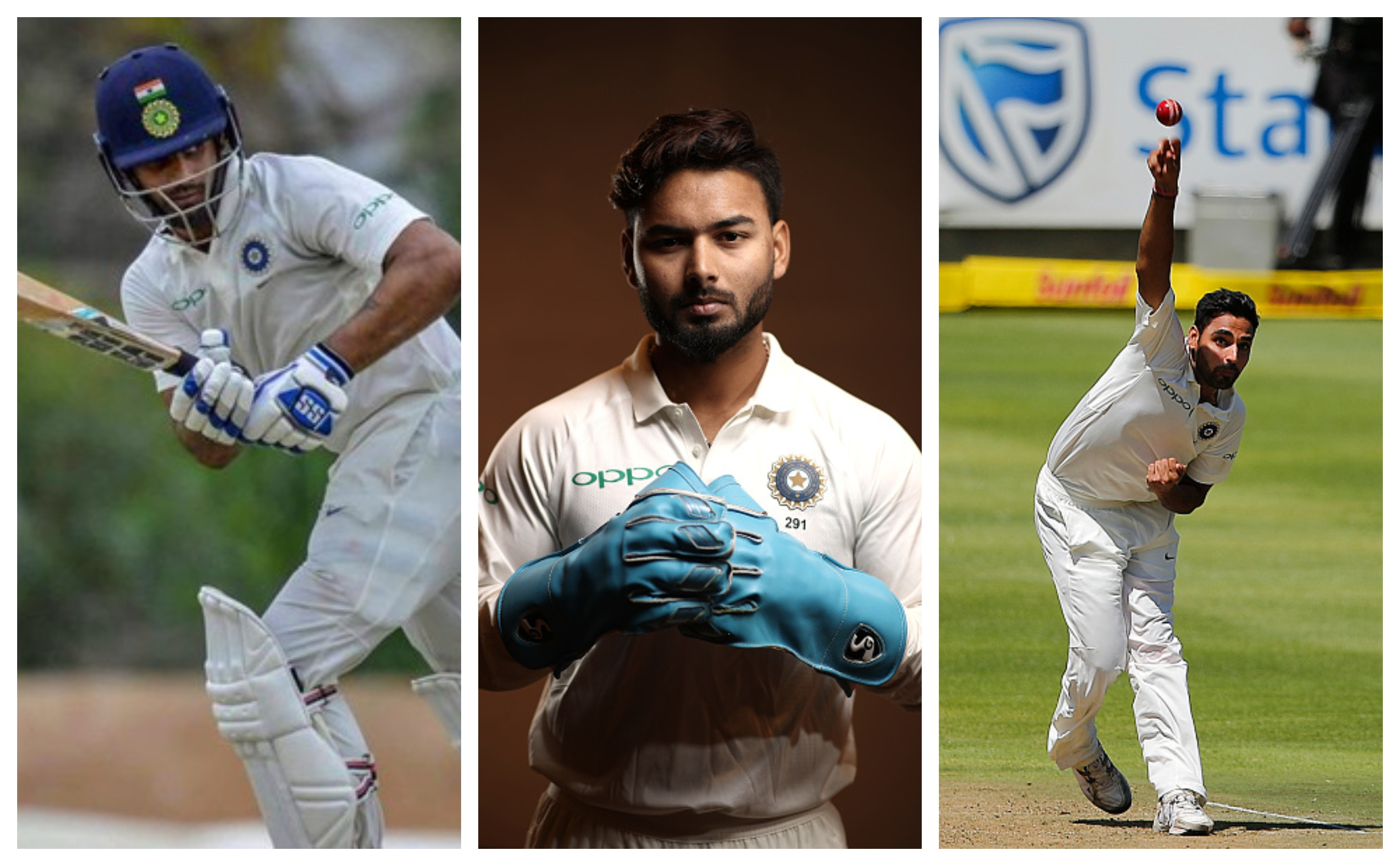 Pant continues to evolve as a keeper, as India are likely to bring in Bhuvi. While Hanuma Vihari has a career-defining opportunity | Getty