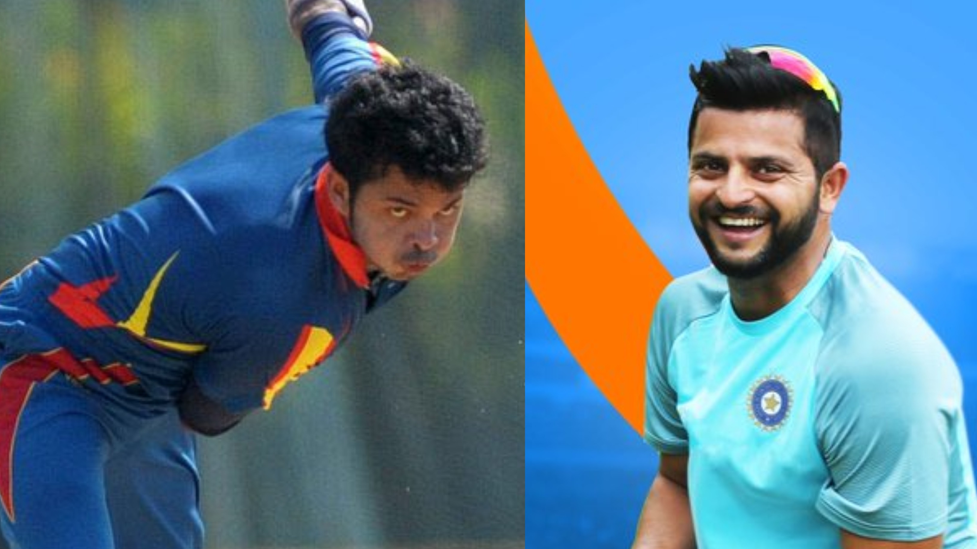 Suresh Raina wishes Sreesanth good luck ahead of his comeback