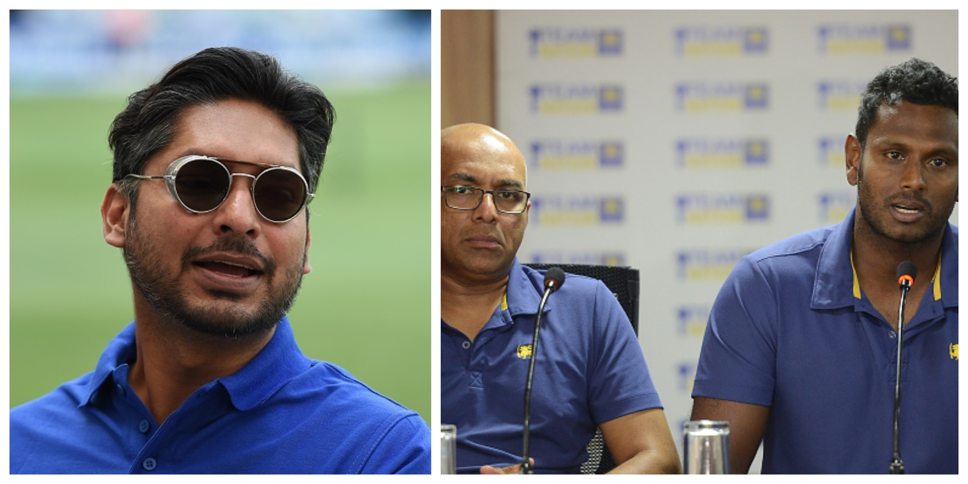 Sanga wants Hathurusinghe and Mathews to resolve their issues