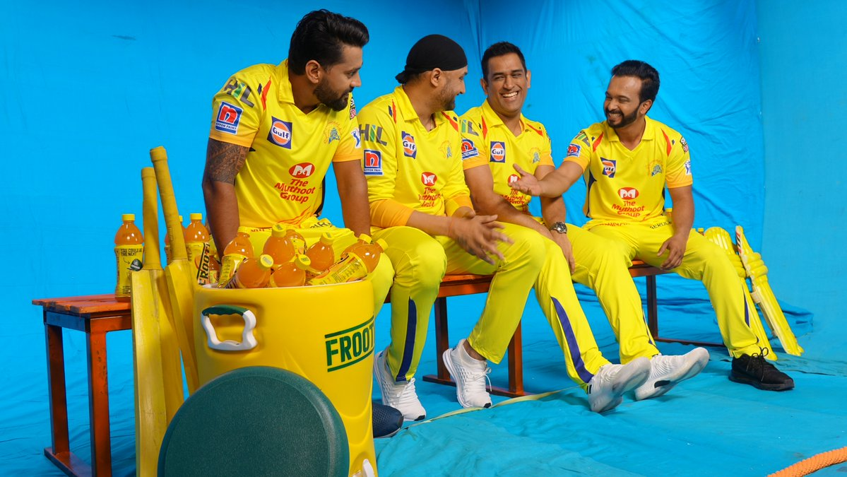 IPL 2019: WATCH- MS Dhoni and CSK players dance on the Chennai Super