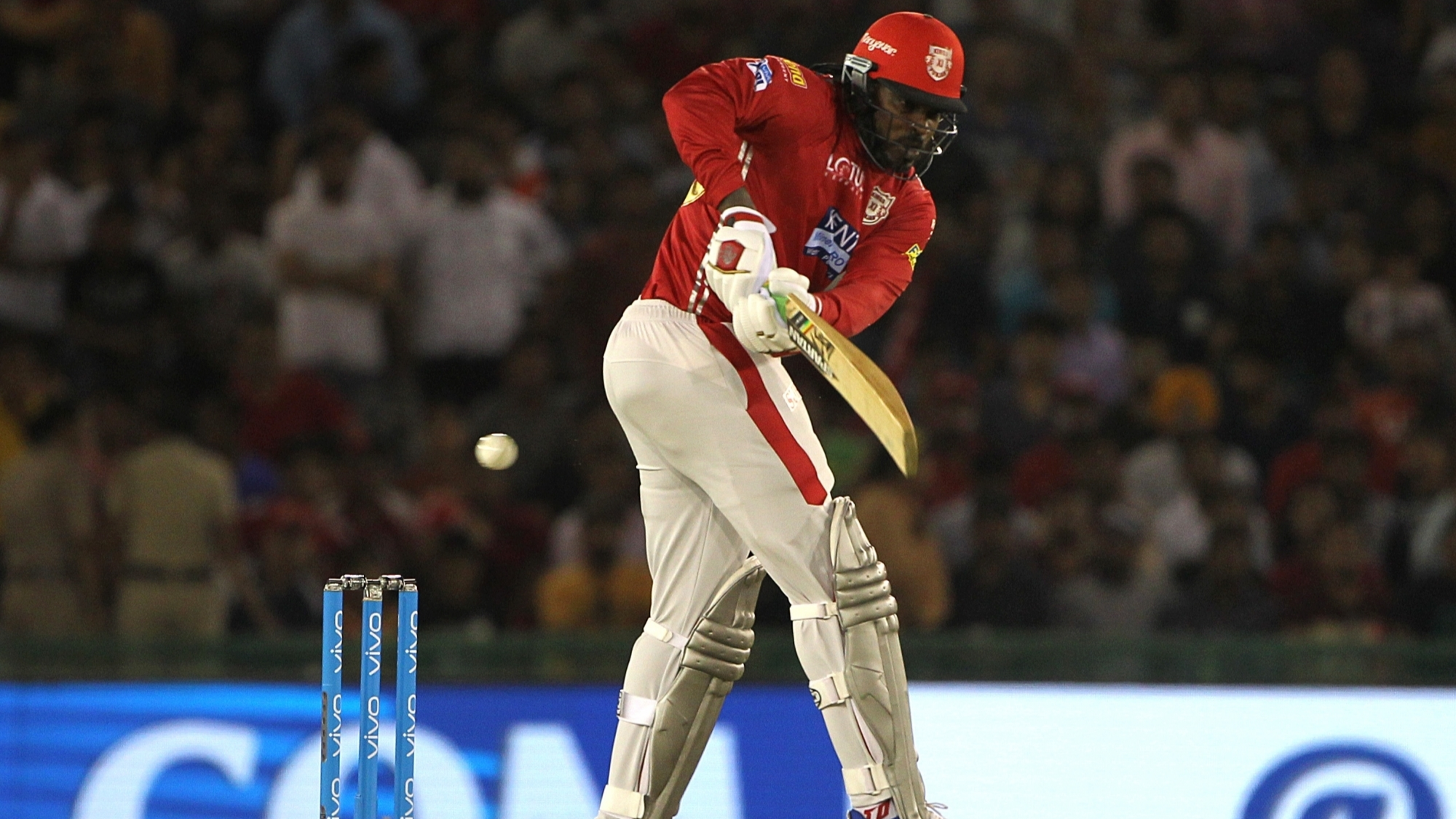 IPL 2018: Chris Gayle's 50 takes KXIP to 174/6 against Mumbai Indians