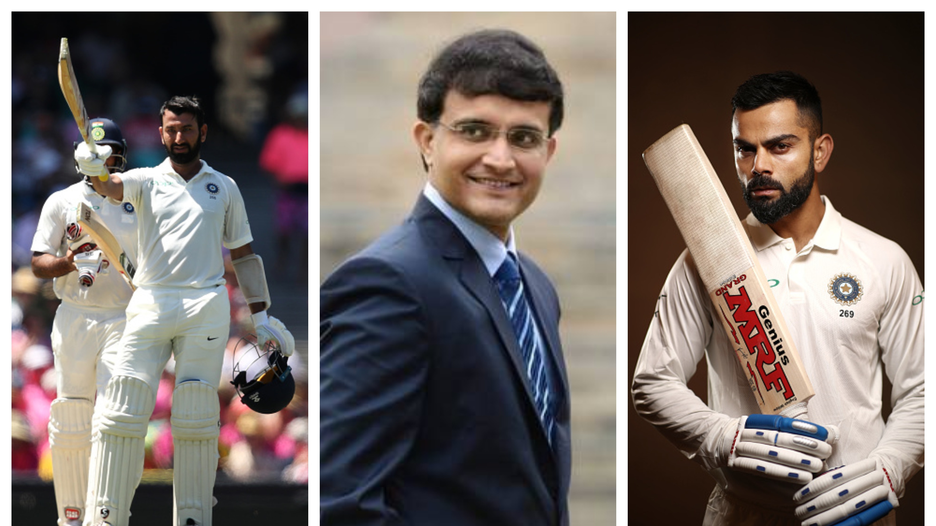 AUS v IND 2018-19: Pujara as important as Virat in Test Cricket for India, says Sourav Ganguly
