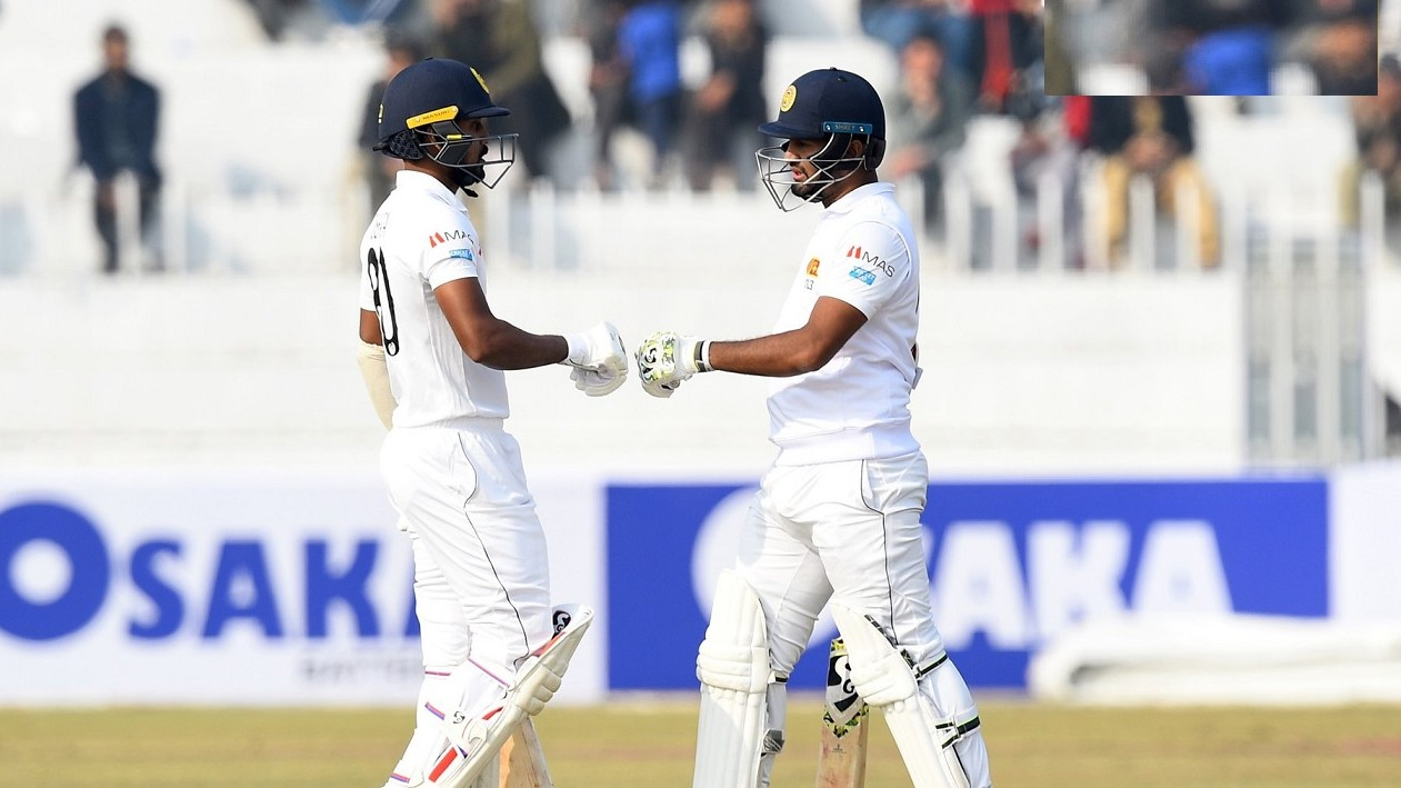 PAK v SL 2019: 1st Test, Day 1- Sri Lanka ends on 202/5 with Karunaratne making 59; Naseem picks two wickets