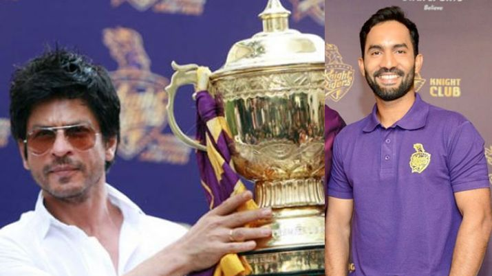 IPL 2018: Shah Rukh Khan welcomes newly appointed KKR captain Dinesh Karthik