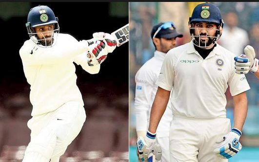 Hanuma Vihari and Rohit Sharma will compete for the no.6 spot for the Adelaide Test | Getty