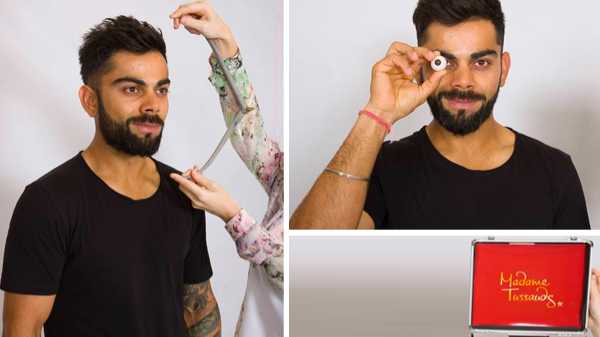 Watch: Virat Kohli shares an important message concerning his Madame Tussauds wax statue