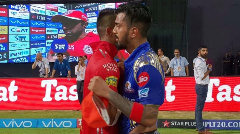 IPL 2018: Watch – KL Rahul and Hardik Pandya exchange their jerseys post MI-KXIP clash