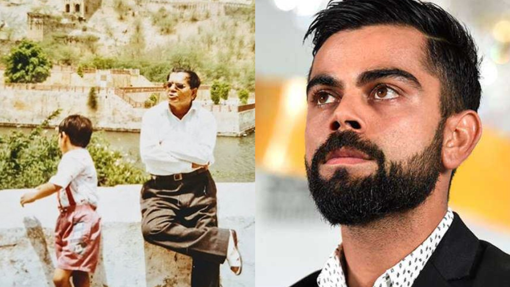 """Urge you to be grateful for your father's love and support,"" Virat Kohli remembers his dad on Father's Day"