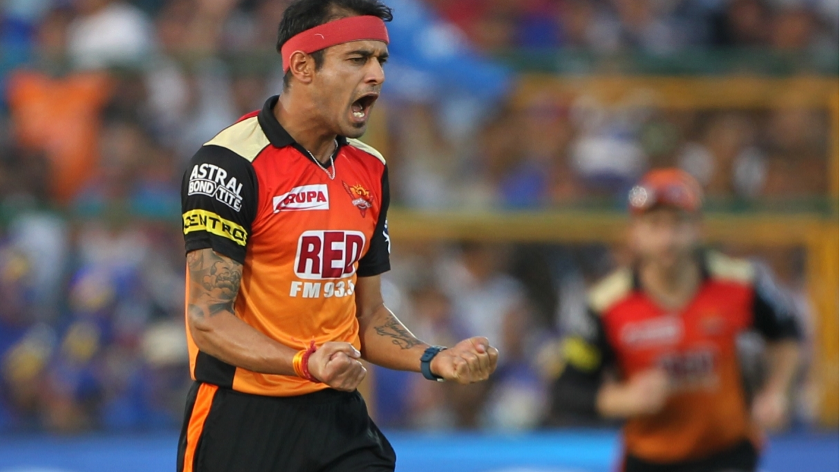 IPL 2018: Watch – Siddarth Kaul playing prank on his Hyderabad teammates