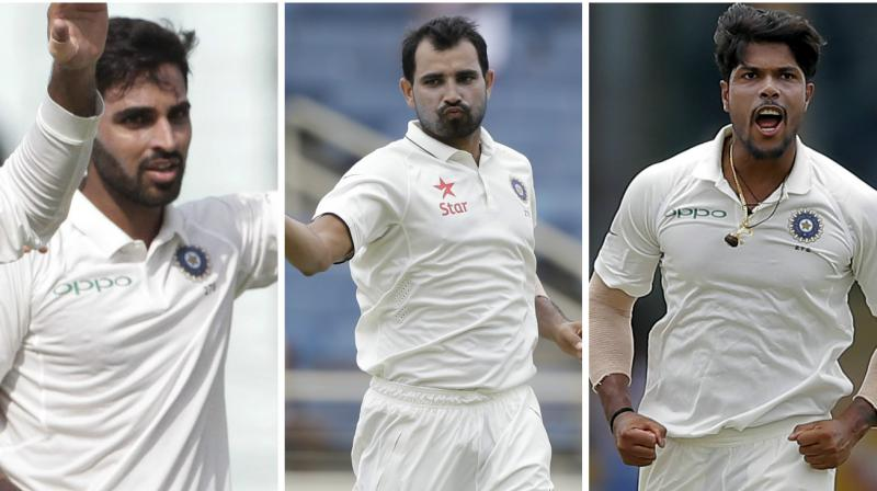 The form and fitness of Indian pacers will define the series for Team India